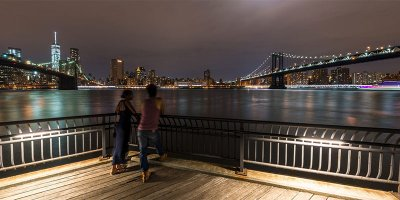 Ponts de Brooklyn et Manhattan