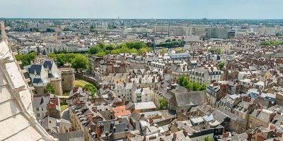 Nantes depuis les toits de la cathédrale
