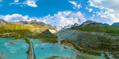 Glacier et Lac de Moiry - Valais
