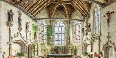 Eglise de la Trinité-Langonnet -  Morbihan